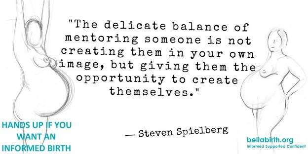 Mentoring is a delicate balance